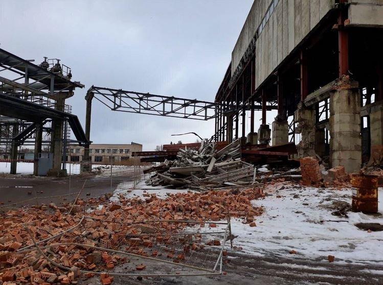 завод Интеграл, обрушение