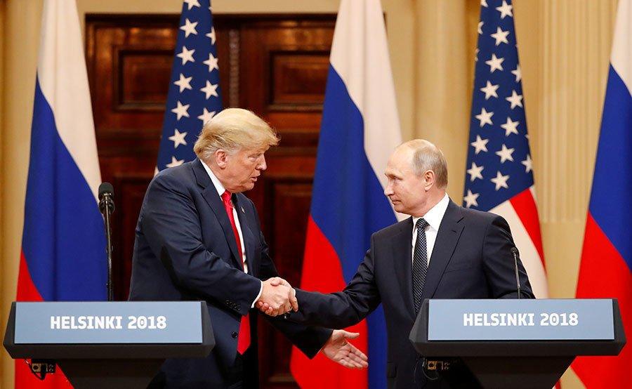 Путин и Трамп встреча