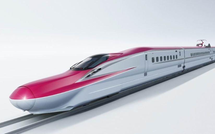 Япония испытывает свой новый сверхскоростной поезд