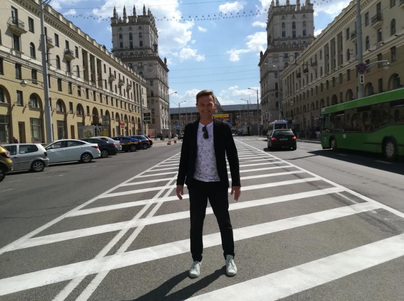 Дмитрий Карась ведущий Белтелерадиокомпании