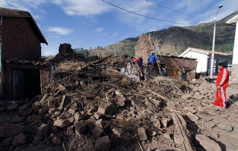 землетрясение перу 2019