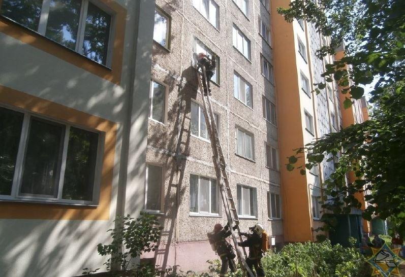 МЧС Беларуси пожары спасатели