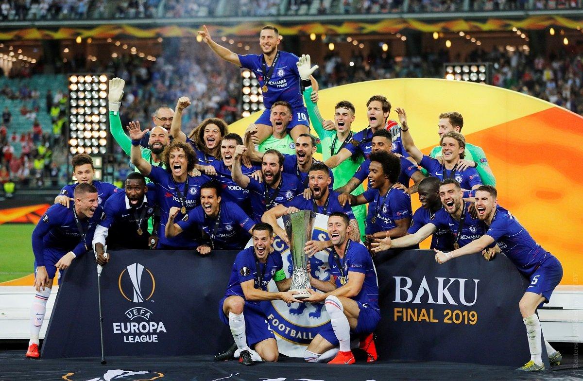 Лига Европы, финал, Челси, Арсенал
