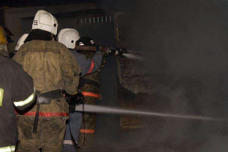 пожар Ивановский район