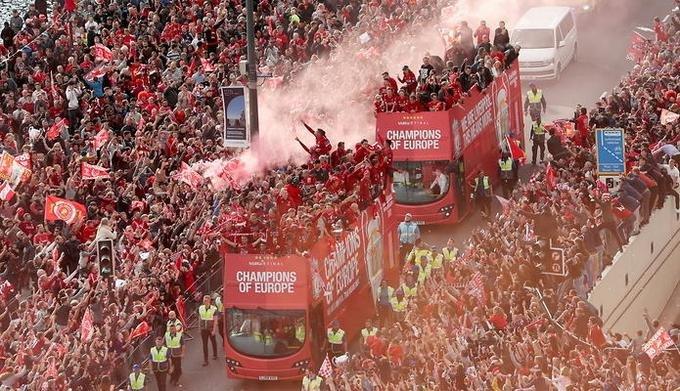 Ливерпуль, победа в Лиге чемпионов