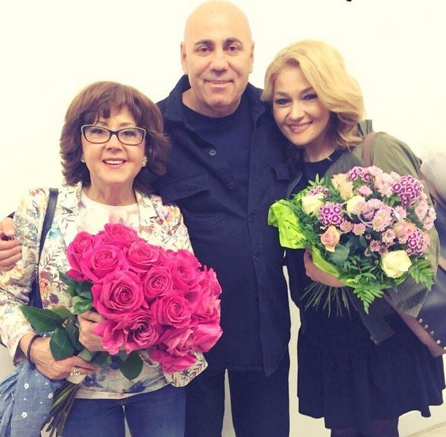Ядвига Поплавская и Анастасия Тиханович
