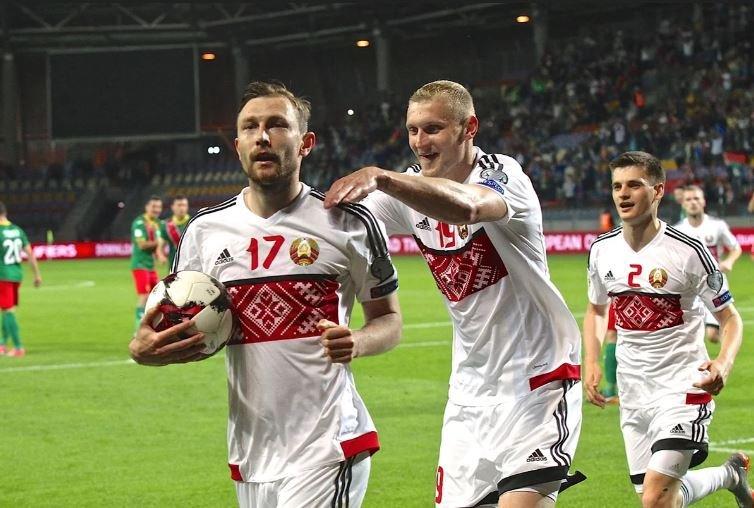 Сборная Беларуси поднялась на 82-е место в рейтинге ФИФА