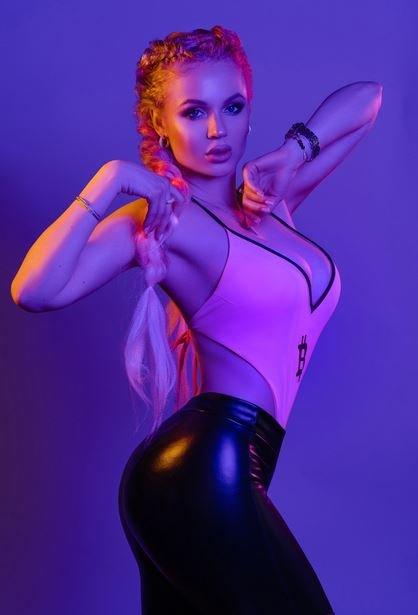 Белорусская модель Татьяна Балецкая
