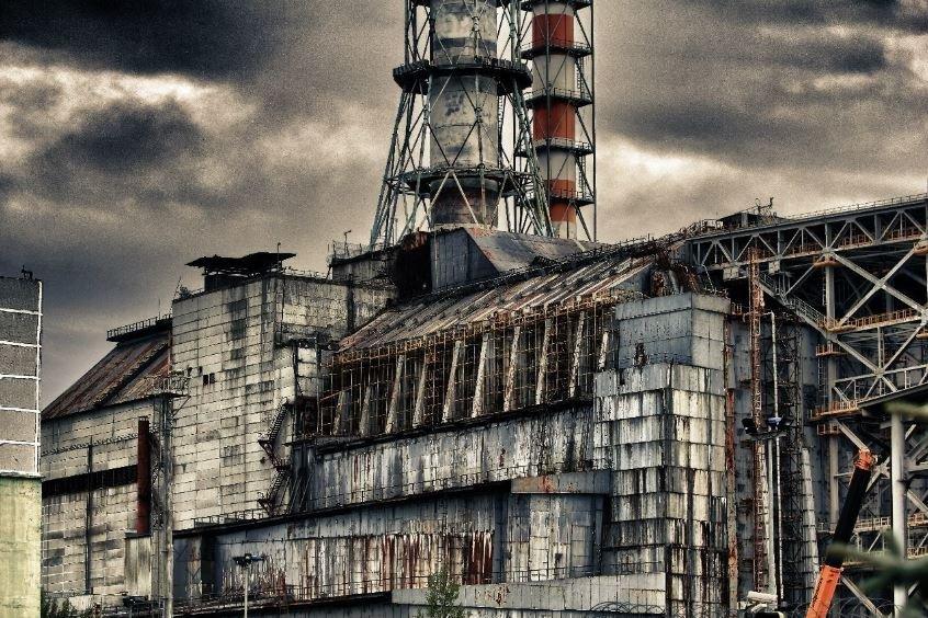 природа зоны отчуждения Чернобыль