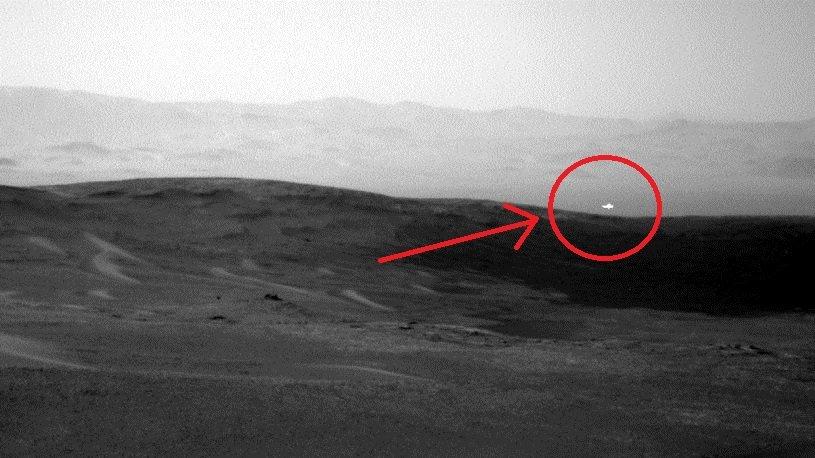 Марс вспышки красная планета
