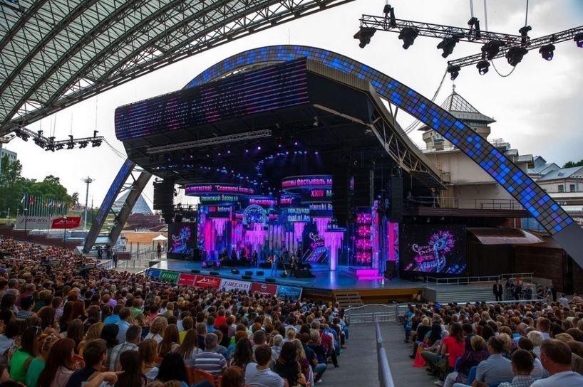 Славянский базар в Витебске 2019 открытие концерты