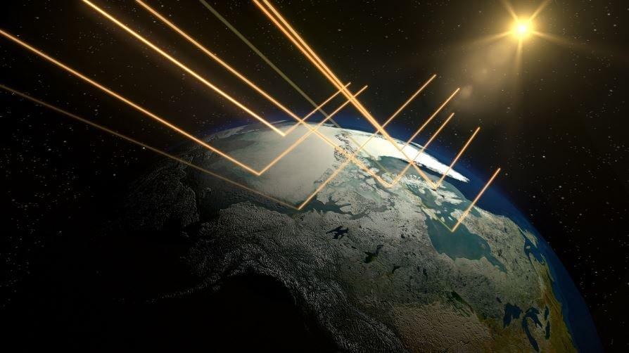 сдерживание солнечной радиации в атмосфере
