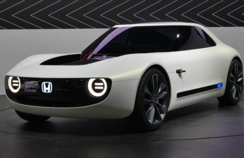 Японский автоконцерн «Хонда» запатентовал электрический спорткар