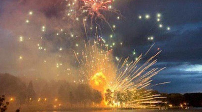 салют минск стела взрыв залпы