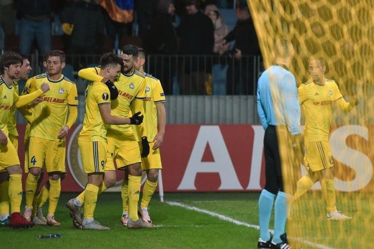 БАТЭ Пяст лига чемпионов Борисов гливице 2019