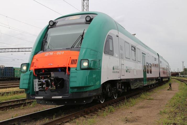 польский дизельный поезд ДП-6 БелЖД вагоны составы