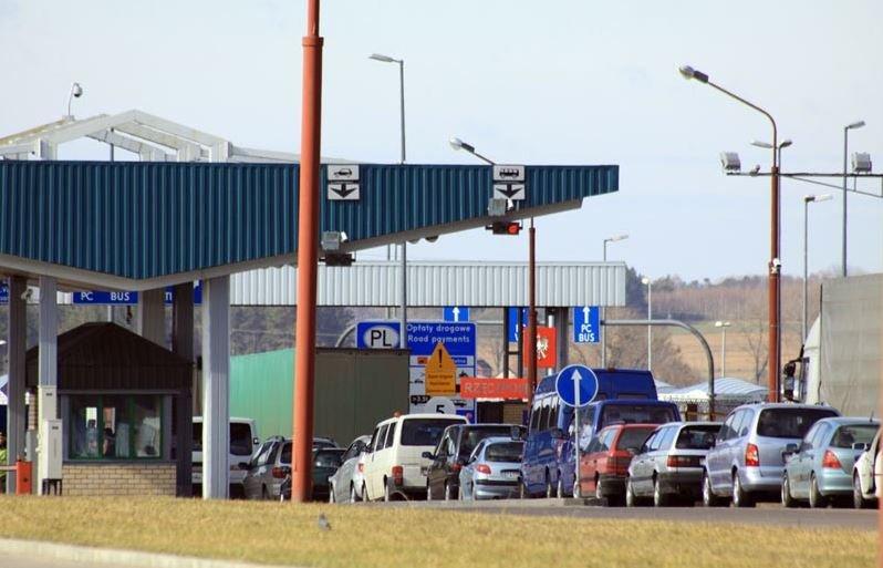 пункт пропуска «Кузница» на белорусско-польской границе