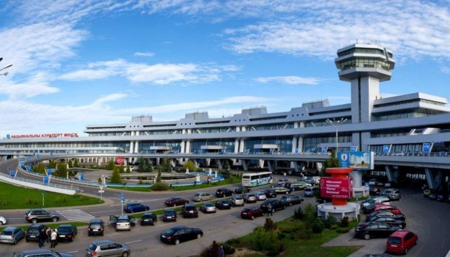национальный аэропорт минск терминал такси