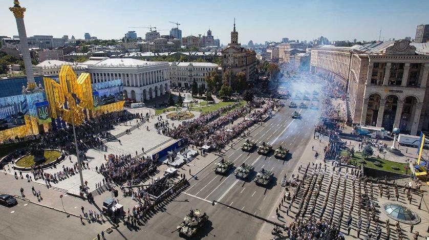 военный парад, киев, украина, зеленский, президент