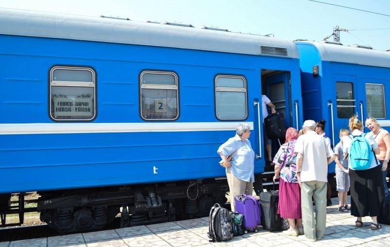 поезда международное сообщение Минск Вильнюс