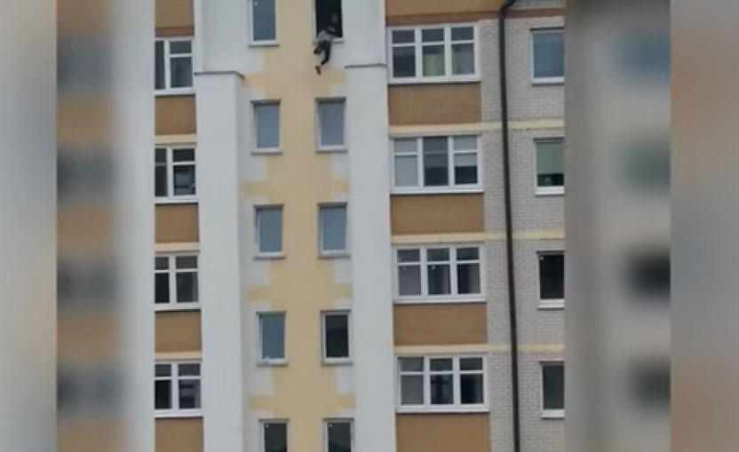 селфи, опасность, дети, балкон, съемка