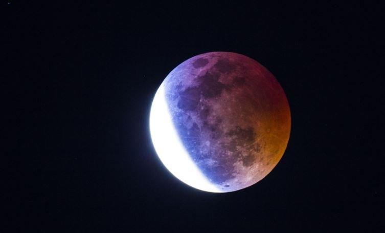 лунное затмение, беларусь, солнце, когда, 2019
