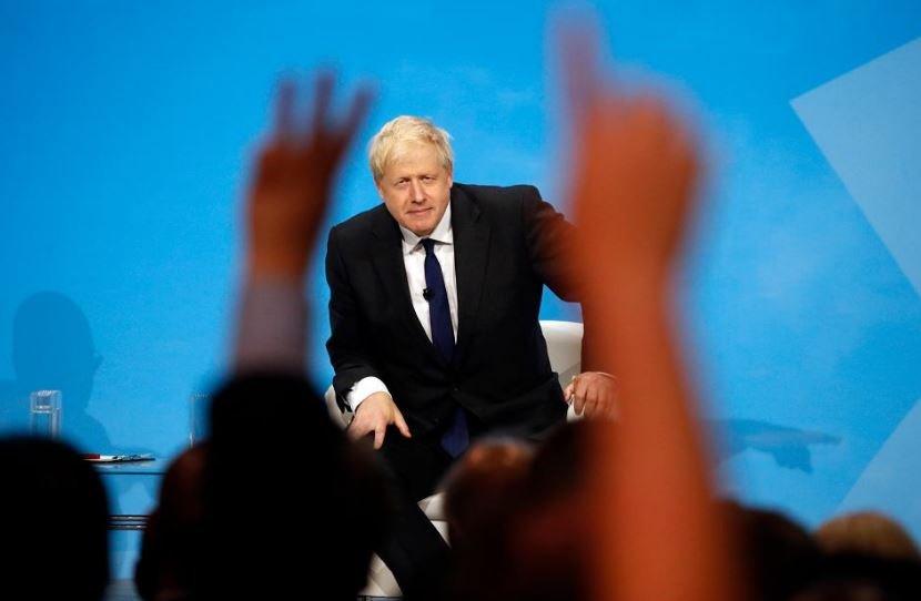 Борис Джонсон премьер-министр Великобритании