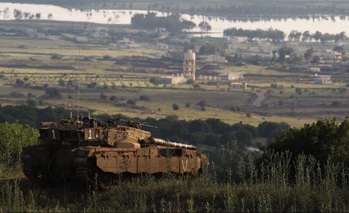 израиль, сирия, война, голанские высоты, ракетные удары