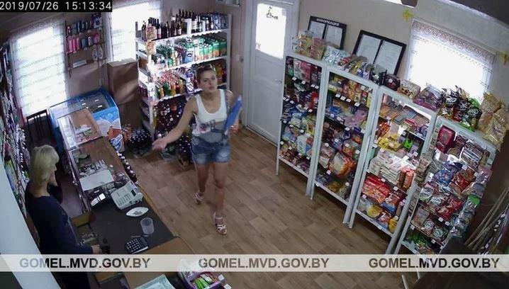 чечерский район, магазин, кража, преступление, милиция, новости