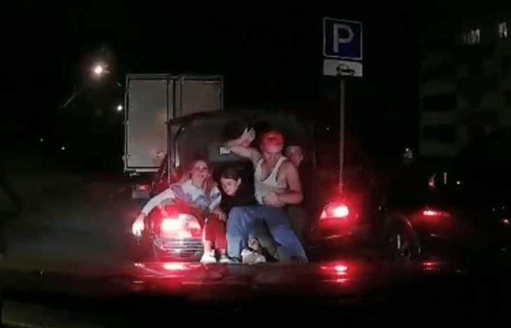 Автомобиль BMW 7, пьяный, водитель, минск, нарушение, гаи, новости