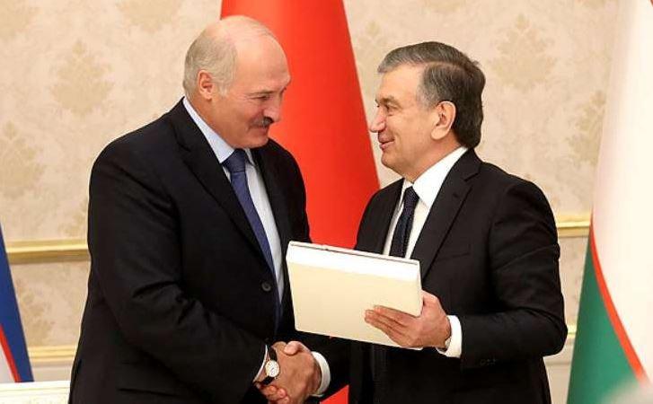 Президент Узбекистана Шавкат Мирзиёев, беларусь, официальный визит