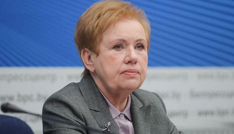 Глава ЦИК Беларуси Лидия Ермошина, парламентские выборы 2019