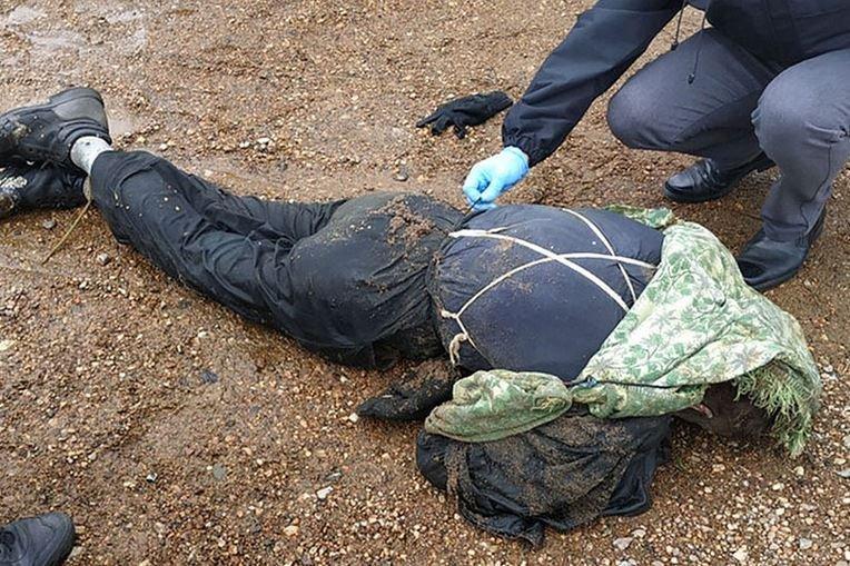 река двина, полоцк, труп, мужчина, убийство, милиция, расследование