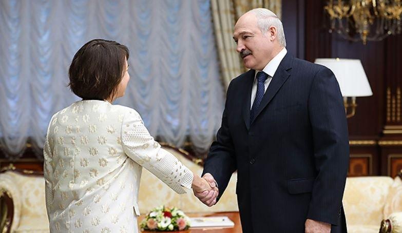 лукашенко, беларусь, президент, фионна гибб, посол, великобритания, встреча