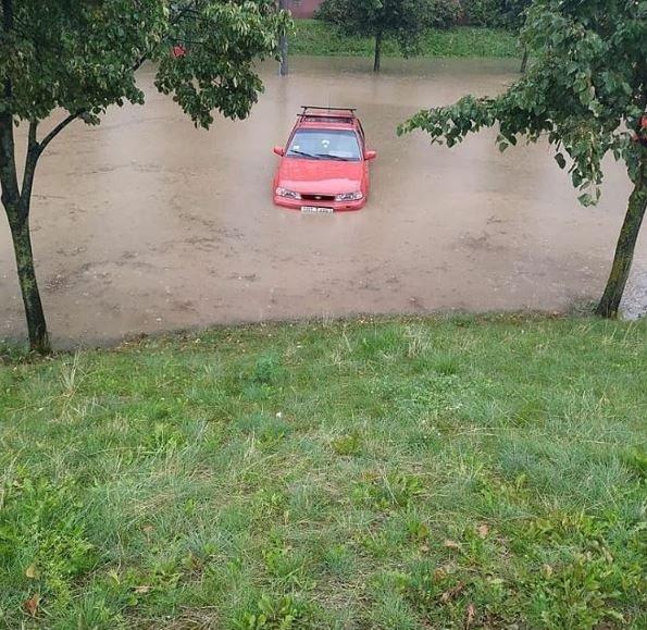 ливень, циклон, подтопление, минск, фото, спасатели, мчс