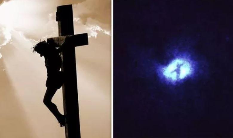 галактика, водоворот, хаббл, телескоп, наса, изображение иисуса