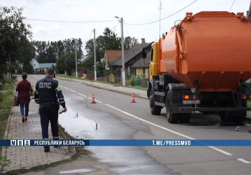 В Клецке грузовик насмерть сбил парня, который проходил альтернативную службу