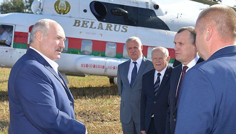 Александр Лукашенко совершает рабочую поездку в Стародорожский район