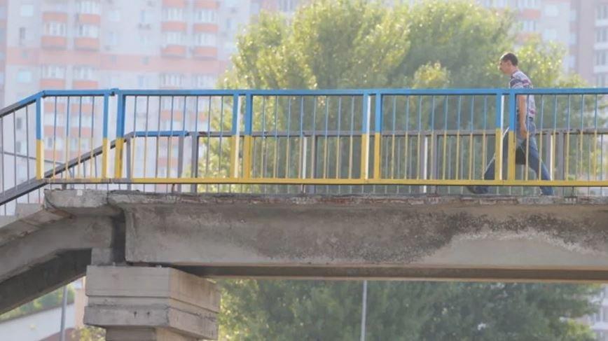 В Барановичах 21-летнего парня ударило током во время селфи на мосту