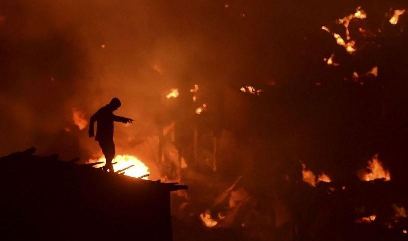 дакка, бангладеш, пожары, гибель, смерти, трущобы, лачуги