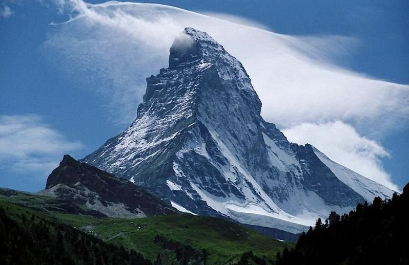 Маттерхорн, гора, белорусская альпинистка, гибель, скалы