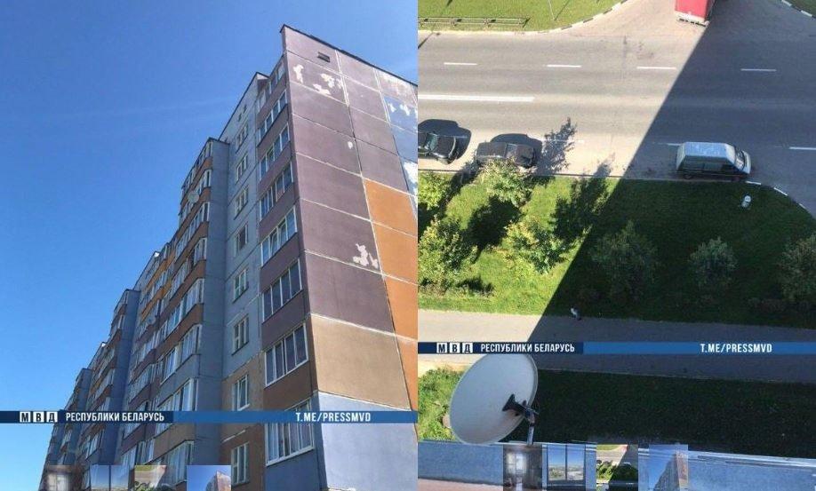 витебск, билево, район, самоубийство, прыжок, балкон, парень, милиция, новости