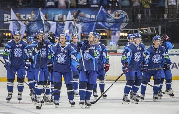 Минское «Динамо» проиграло «Нефтехимику» в первом матче КХЛ