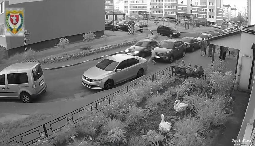 В Жодино машина сбила ребенка