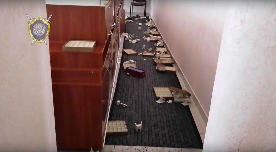 Задержаны подозреваемые в ограблении ювелирного магазина «Яхонт»