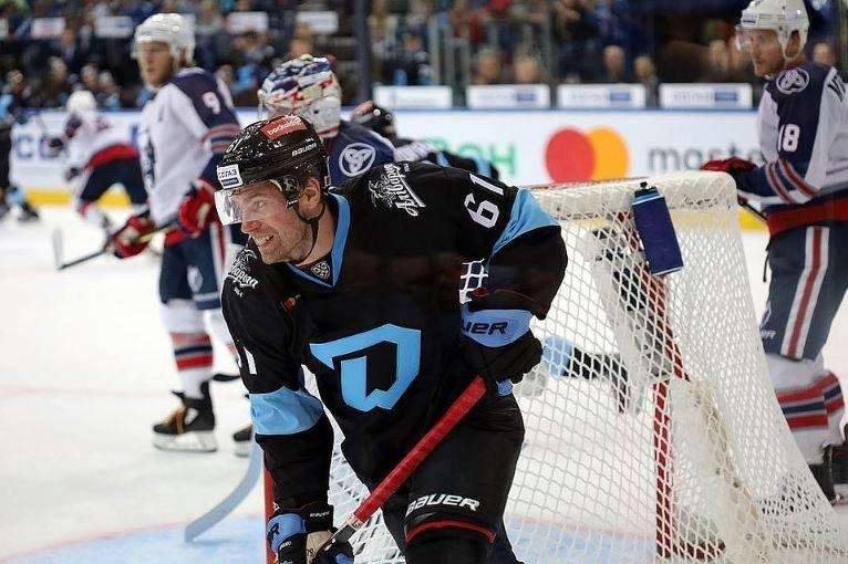 Минское «Динамо» проиграло второй матч в новом сезоне КХЛ