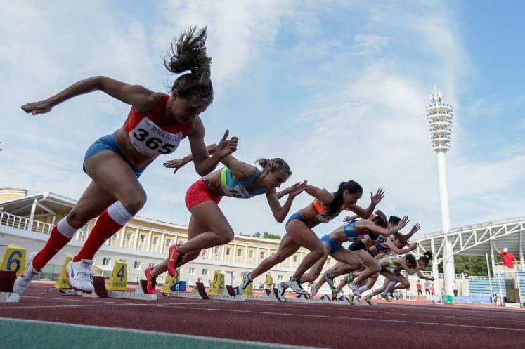 Минск принимает матч легкоатлетический матч Европы и США