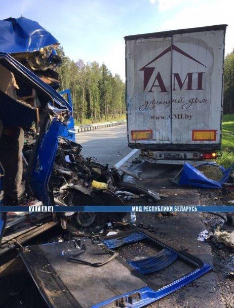 Двое человек погибли в результате ДТП в Минском районе