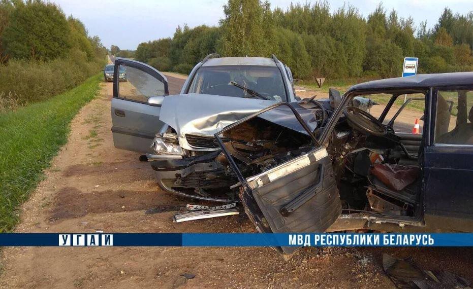 Водитель ВАЗ погиб в ДТП в Толочинском районе