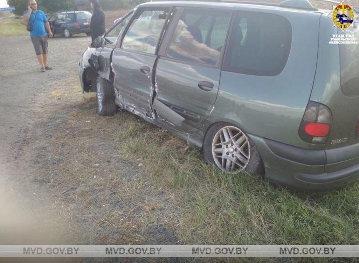 В Светлогорском районе в лобовом ДТП погиб водитель